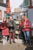 Einweihung öffentliches Bücherregal am neuen Standort Ebertplatz - 16.09.2017