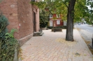 Neu gestalteter Platz vor alter Kath. Kirche 15.11.14