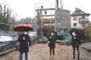 Neues Feuerwehrgerätehaus erhält Wand- und Deckenelemente - 28.01.2021