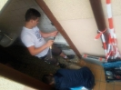 Reparatur der Toiletten und der eingetretenen Tür am 08.06 (2)