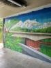 Stadtteilverein lässt Graffitischäden an Brückenunterführung beheben - 16.07.2020